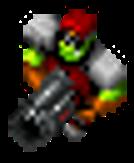 Orc Captain rocket launcher
