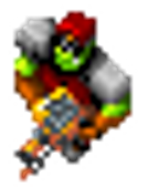 Orc Captain flamethrower