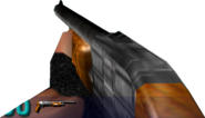 Pump-action shotgun Alpha v