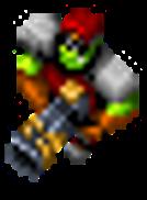 Orc Captain grenade launcher
