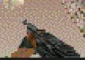Pump-action shotgun Palm OS v