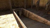 Karnak temple exit