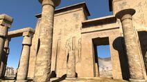 Karnak pillars
