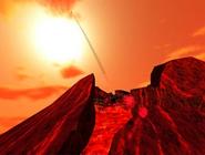 Lava planet volcano