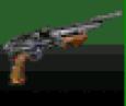 Pump-action shotgun Palm OS