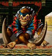 Monkey Zombie art