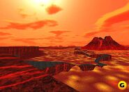 Lava planet screenshot