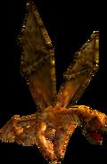 Dragonman medium flying