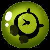 Bubble-clock