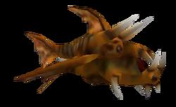 Рибийская зубастая рыба