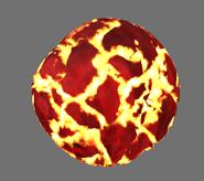 Lavagolemfireball hd