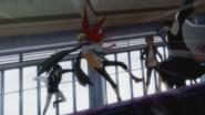 Greed Pair, Sloth Pair, and Tsubaki ep 12
