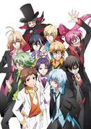 Servamp festival illustration