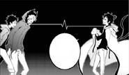 Mahiru, Kuro, Tsurugi ch 44