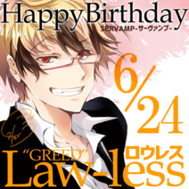 Lawless 2020 bday