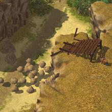 Settlers rocks