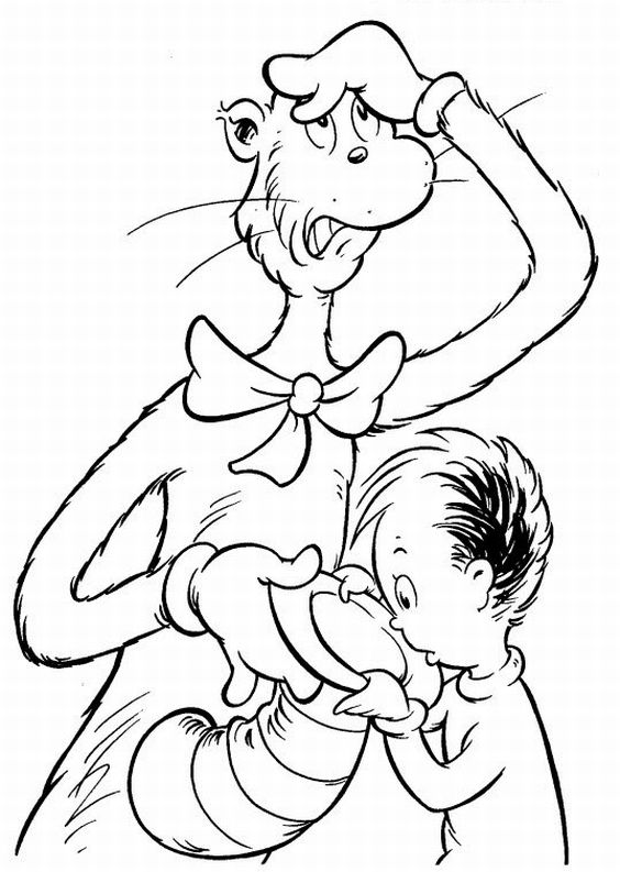 dr seuss coloring pages 2jpg - Grinch Coloring Pages 2