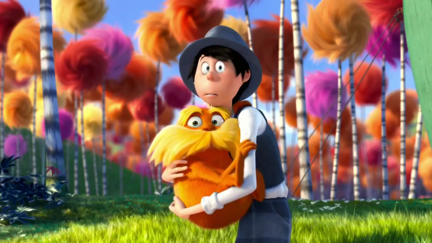 Image result for lorax movie and destroyed environment
