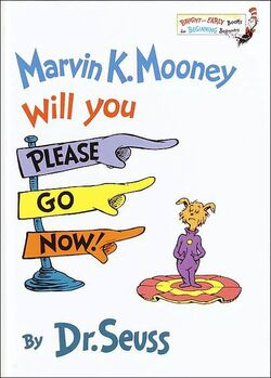 Marvin K. Mooney Cover