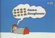 David donald doo dreamed a dozen doughnuts
