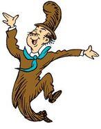 A happy mr.brown
