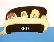All in bed sleeping