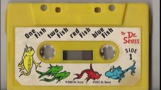 One Fish Two Fish Red Fish Blue Fish Dr. Seuss Cassette Tape