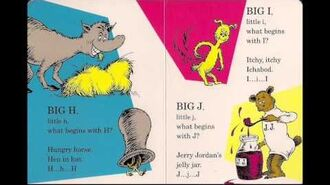 Dr. Seuss's ABC An Amazing Alphabet Book! song