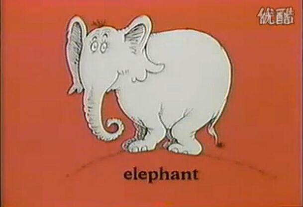 Female Elephant (not horton)