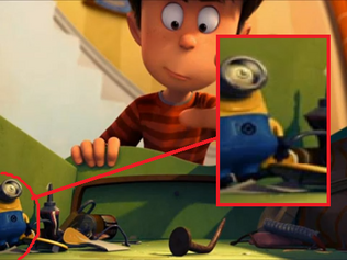 Minion Easter Egg in The Lorax 2012