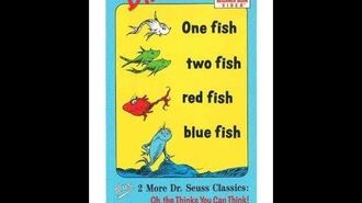 Dr Seuss Beginner Book Video - One Fish Two Fish Red Fish Blue Fish