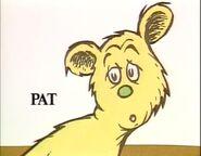 Pat again looking behind