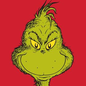 The grinch red