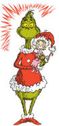 The Grinch holding Cindy