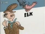 He can go eek