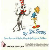 The+Cat+in+the+Hat+Song+Book+by+Dr.+Seuss+Authentic+Decorative+Book