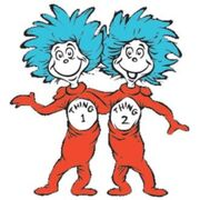 Image result for thing 1 and thing 2