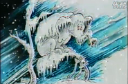 And icicles hung from his trunk and his feet