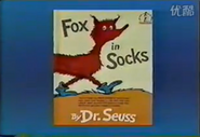 Fox in Sock (Book)