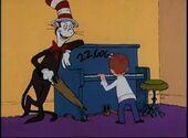 Mark the piano