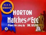 Horton Hatches the Egg (1942)