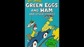 Dr Seuss Green Eggs and Ham and Other Stories Sing Along (1997 VHS)