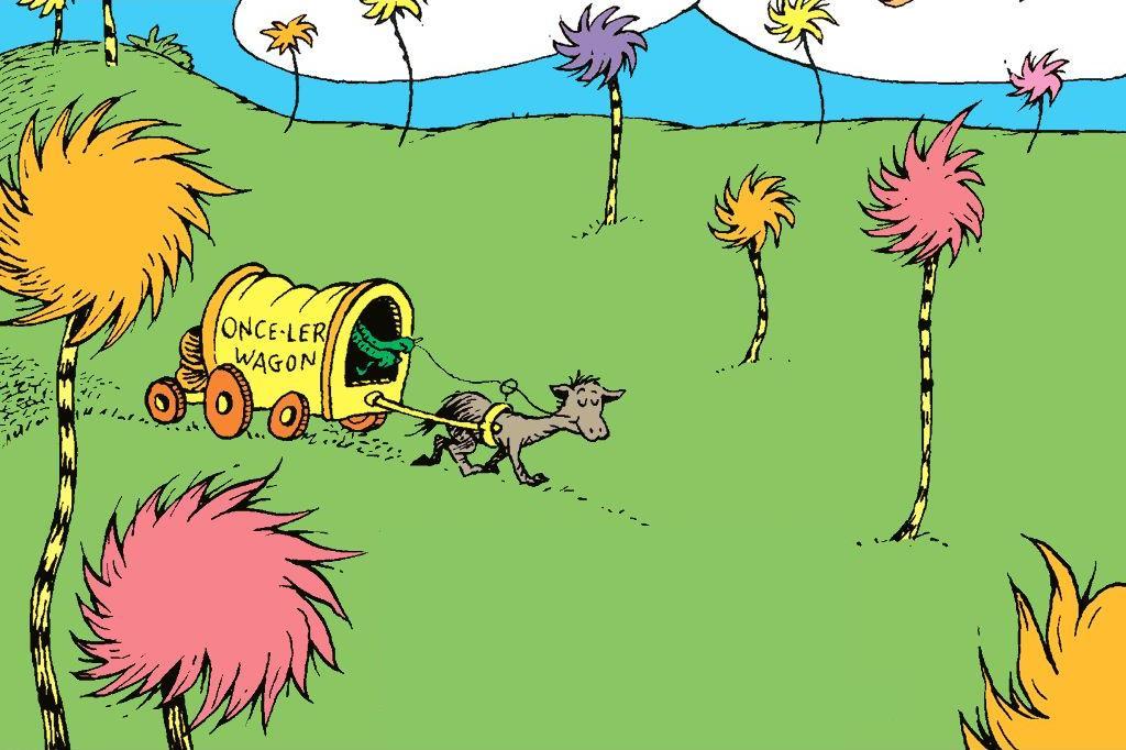 The Lorax Book Dr Seuss Wiki Fandom