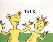We like to talk
