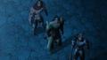 Dreyfus, Hauser et Griamor qui regarde les étoiles