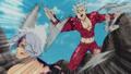 Ban attaque de rage Hendricksen anime