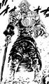 Helbram se déguise en un vieux guerrier