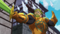 Helbram utilise Iceberg Tueur anime