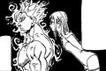 Merascylla qui parle avec Ban