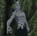 Hendricksen en Forme Demon Gris dans l'anime